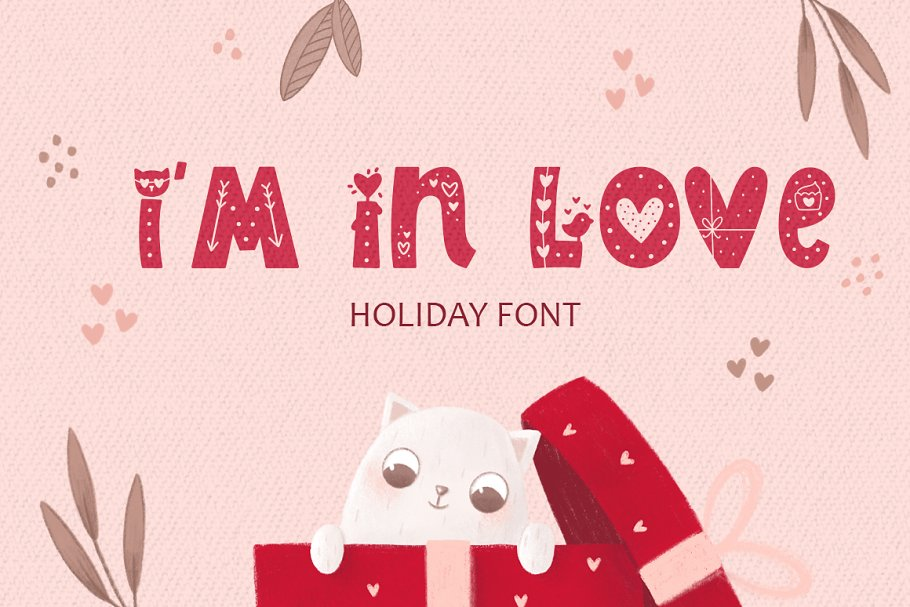 I Am In Love Font
